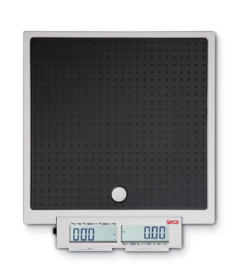 seca 874 - Flat scale for mobile use with push buttons and double display #0