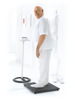 seca 634 - EMR ready platform and bariatric scale #1