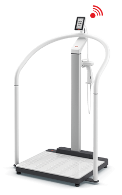 seca Scale-up Line - EMR-validated handrail scale with ID-Display and optional height measurement #0