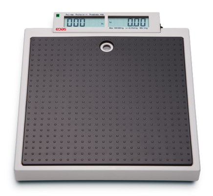 seca 878 - Flat scale for mobile use with pushbuttons and double display #3