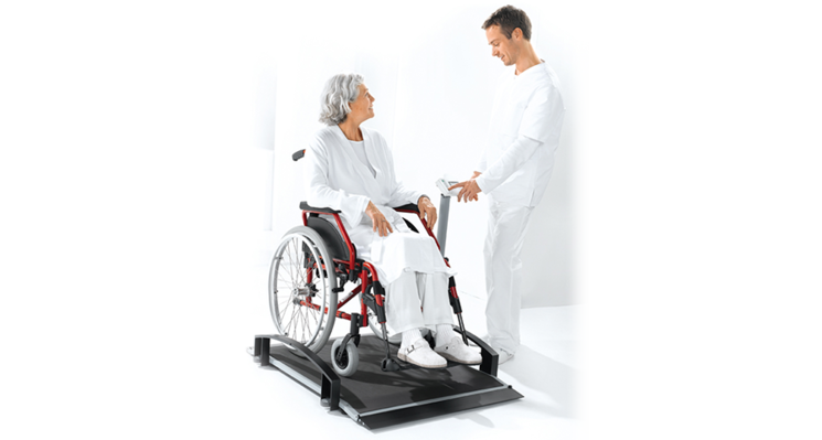 seca 665 - EMR ready electronic wheelchair scale #2