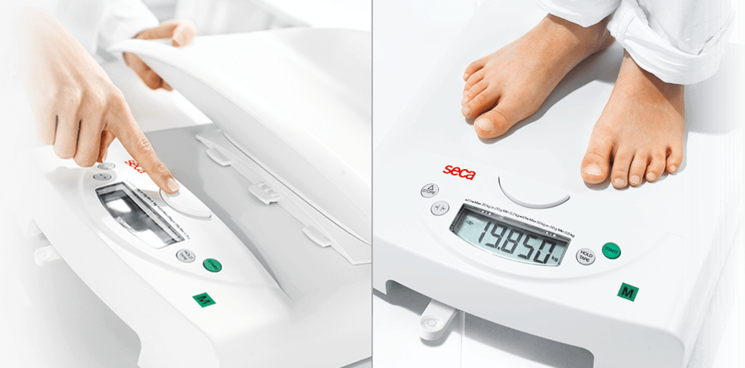 seca 385 - Electronic baby scale with fine graduation, also usable as flat scales for children #2