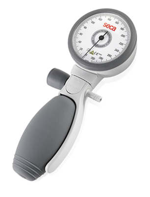seca b12 - Manual blood pressure monitor with quick-release fastener and color-coding of the tubes. #0