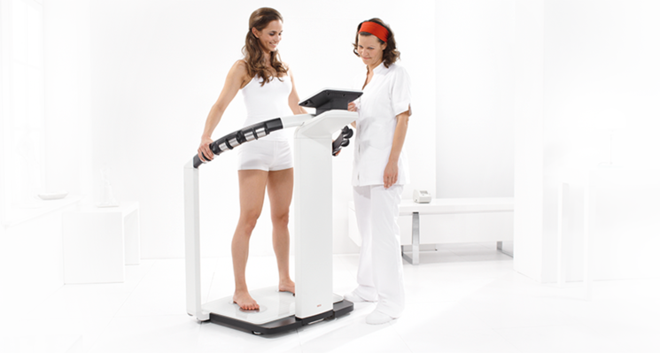 seca mBCA 515 - Medical Body Composition Analyzer for determining body composition while standing #5