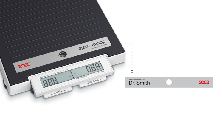 seca 878 dr - Its name speaks for itself: the seca doctor scale #1