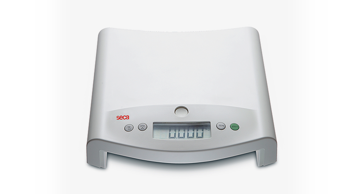 seca 354 - Digital baby scale with fine graduation, also converts to a flat scale for children #1
