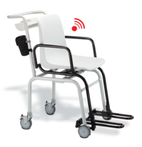 seca 959 - Wireless chair scale to weigh seated patients