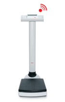 seca 704 - Wireless column scale with capacity of up to 300 kilograms